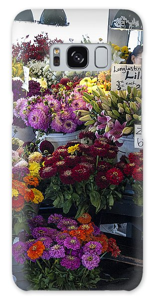 Flower Market Galaxy Case
