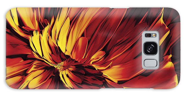 Flower Galaxy Case by Matt Lindley