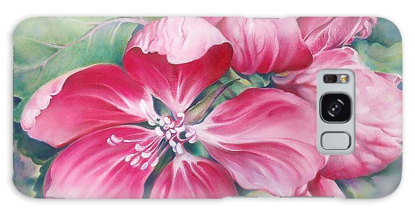 Flower Of Crab-apple Galaxy Case by Anna Ewa Miarczynska