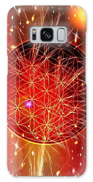 Flower Of Life  Galaxy Case