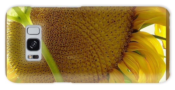 Flower Of The Sun Galaxy Case by Peter Mooyman