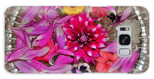 Flower Offerings - Jabalpur India Galaxy Case