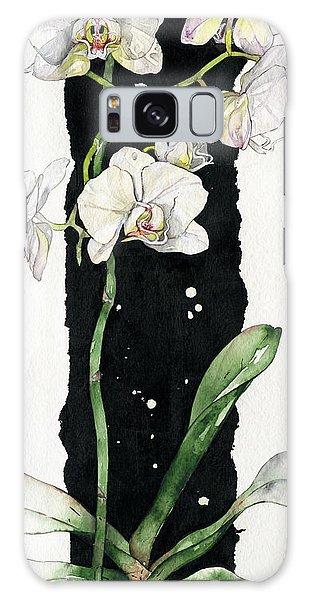 Flower Orchid 05 Elena Yakubovich Galaxy Case