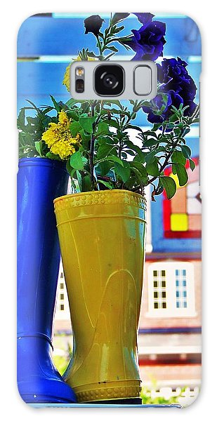 Flower Pots... Galaxy Case by Al Fritz