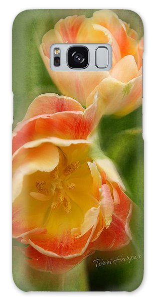 Flower Power Revisited Galaxy Case