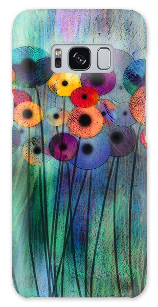 Flower Power Three Galaxy Case