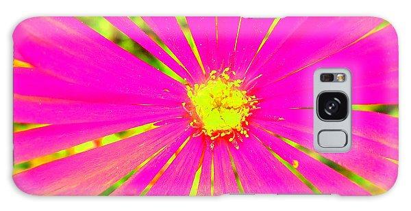 Flower Rays Galaxy Case by Julia Ivanovna Willhite