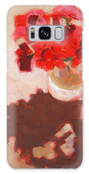 Flower Shadows Still Life Galaxy Case
