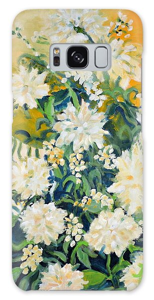 Flower Study Galaxy Case by Julie Todd-Cundiff