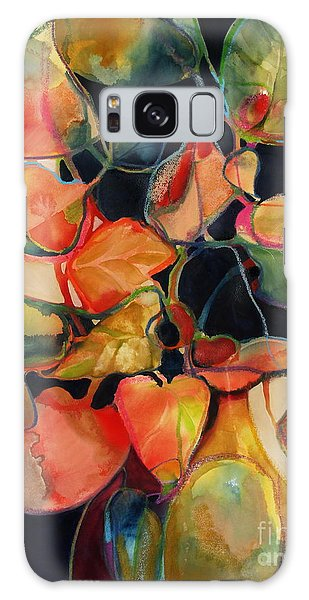 Flower Vase No. 5 Galaxy Case by Michelle Abrams