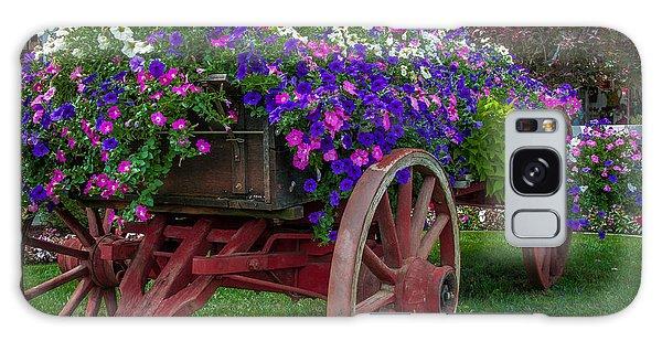 Flower Wagon Galaxy Case