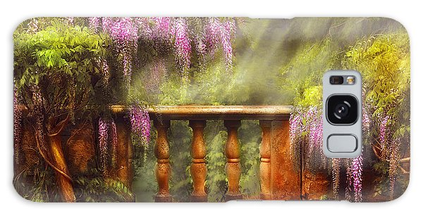 Artful Galaxy Case - Flower - Wisteria - A Lovers View by Mike Savad
