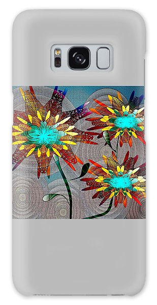 Flowering Blooms Galaxy Case by Iris Gelbart