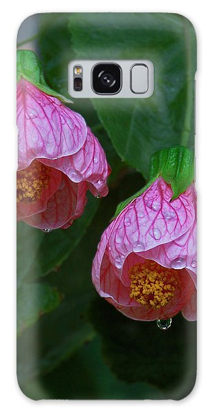Flowering Maple Galaxy Case