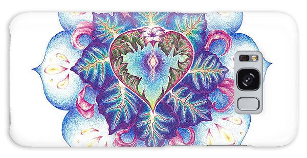 Flowering Of The Heart   Oneness Art Galaxy Case
