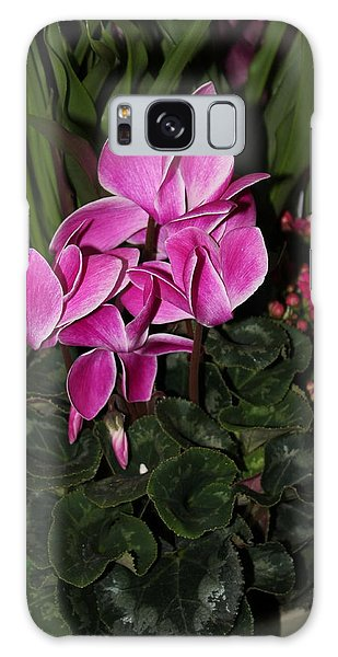 Flowering Plant Galaxy Case by Cyril Maza