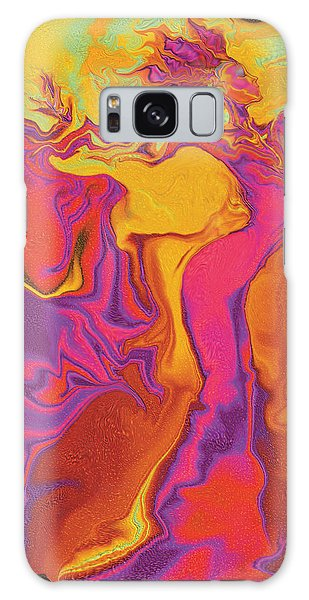 Flowerishing Dancer Galaxy Case