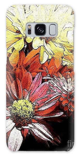 Flowerpower Galaxy Case by Susan Townsend
