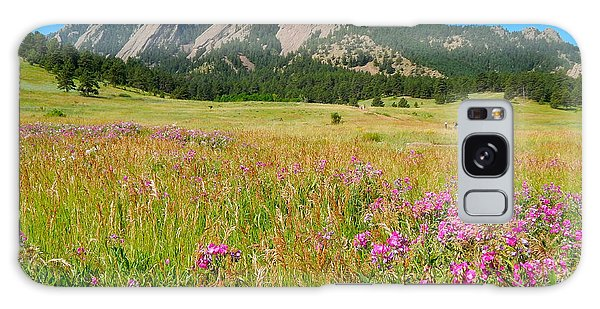 The Flatirons Colorado Galaxy Case