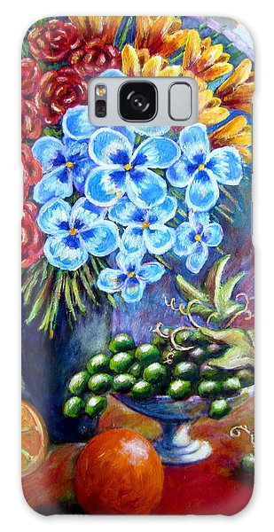 Flowers And Fruit  Galaxy Case