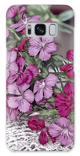 Flowers And Lace Galaxy Case