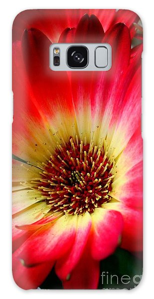 Flowers Are Happiness Galaxy Case