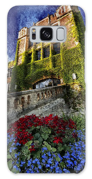 Flowers At Somsen Hall Galaxy Case