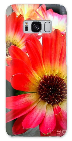 Flowers Fine Tuned Galaxy Case