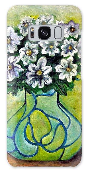 Galaxy Case - Flowers For Jenny by Martel Chapman
