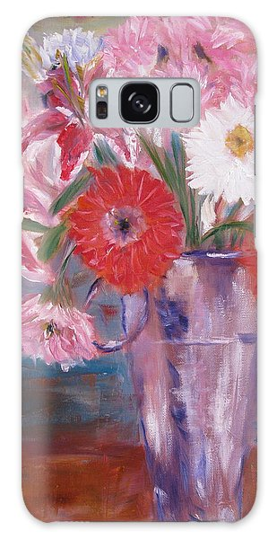 Flowers For Me Galaxy Case