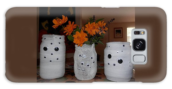 Halloween Flowers For Mummy Galaxy Case