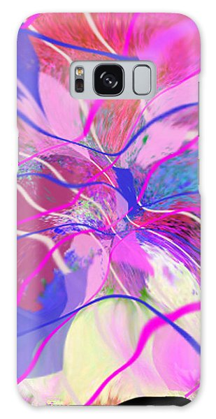 Original Contemporary Abstract Art Flowers From Heaven Galaxy Case