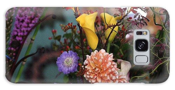 Flowers From My Window Galaxy Case