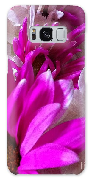 Flowers In A Row Galaxy Case by Gayle Price Thomas