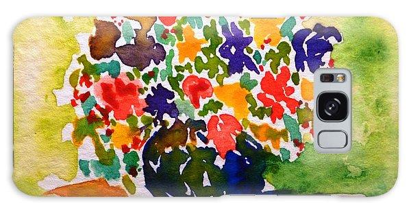 Flowers In A Vase Galaxy Case
