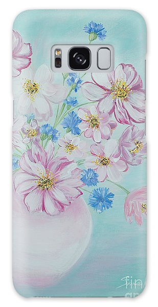 Flowers In A Vase. Inspirations Collection Galaxy Case