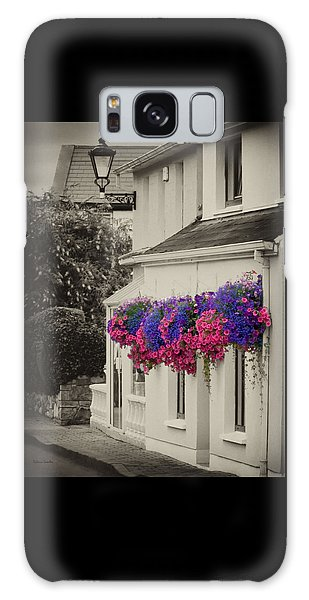 Flowers In Cashel Galaxy Case