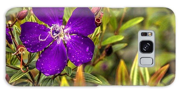 Flowers Love Water Galaxy Case