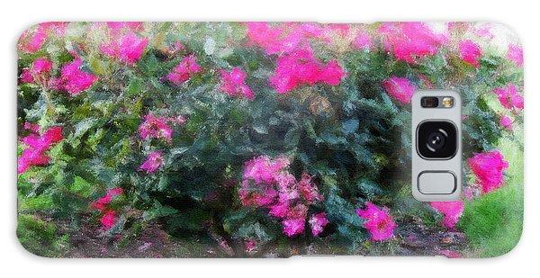 Flowers Galaxy Case