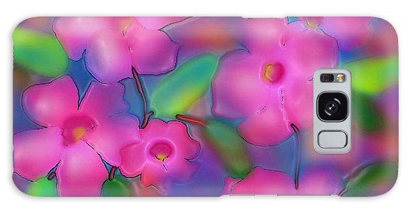 Flowers Of October Galaxy Case by Latha Gokuldas Panicker