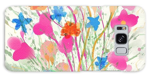 Flowers Of Spring Galaxy Case