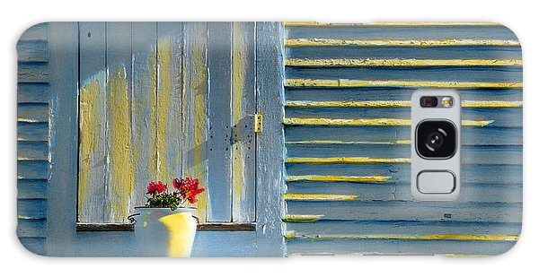 Flowers On The Porch Galaxy Case