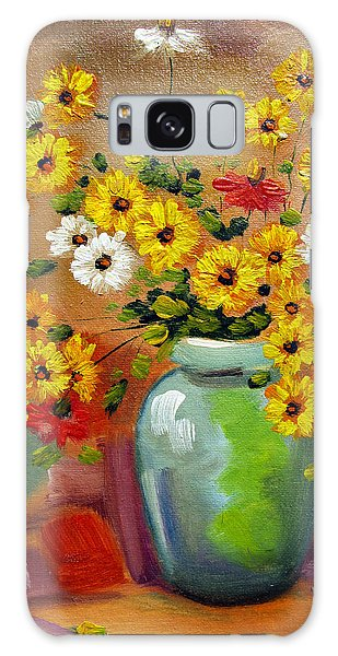 Flowers - Still Life Galaxy Case
