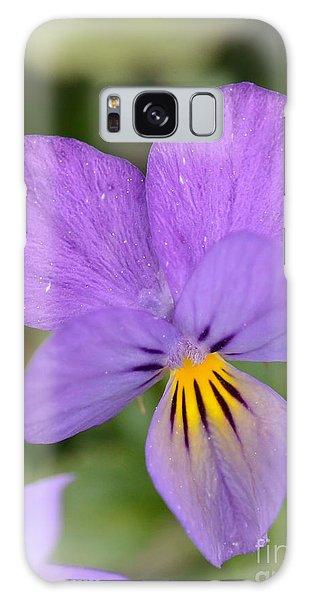 Flowers That Smile Galaxy Case by Kerri Farley