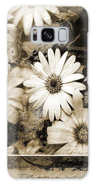 Flowers Galaxy Case by Yanni Theodorou