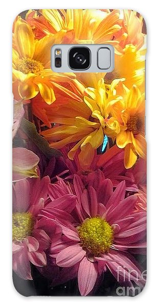 Flowers2 Galaxy Case by Susan Townsend