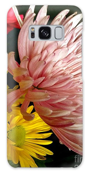 Flowers3 Galaxy Case by Susan Townsend
