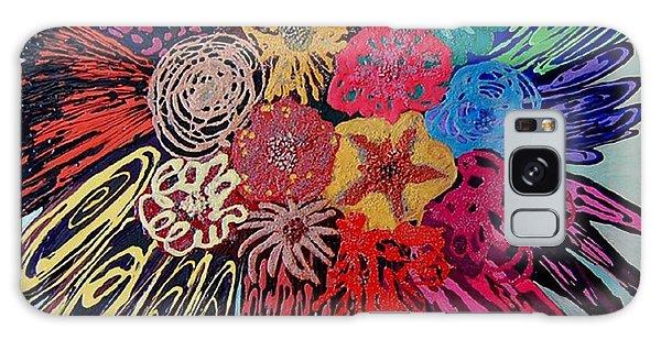 Flowers Burst By Jasna Gopic Galaxy Case