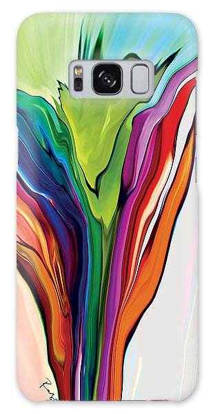 Flowery 5 Galaxy Case