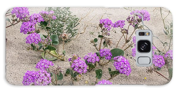 Desert Flora Galaxy Case - Flowery Sand-dunes by Bob Gibbons/science Photo Library